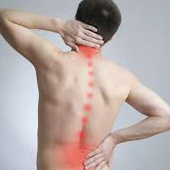 Lower back, neck and shoulder pain
