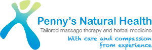 logo Penny's Natural Health - Swedish & Remedial Message Therapist & Medical Herbalist